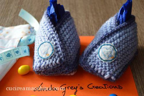 Come realizzare delle babbucce per neonato