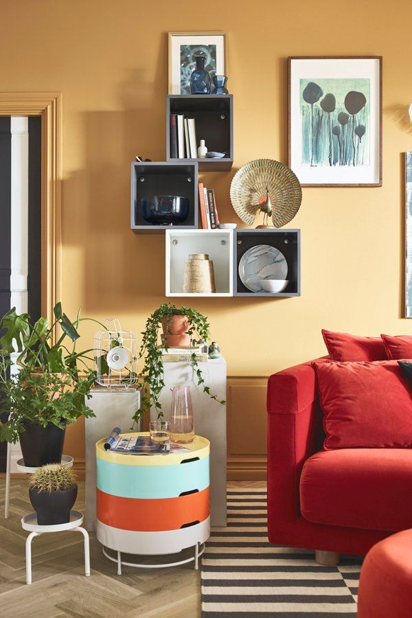 Living Room Storage Should Organize Your Things While Also Displaying Favorite Pictures Books And Figurines IKEA Comes In A