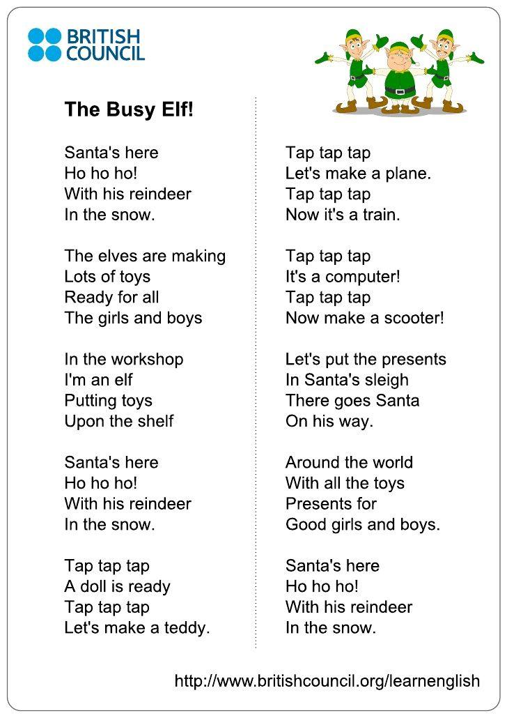 Image result for santa's christmas workshop song lyrics