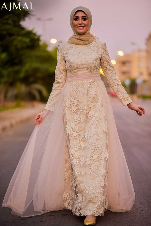 classy-evening-soiree-dress-hijab-style- Beautiful hijab evening dresses