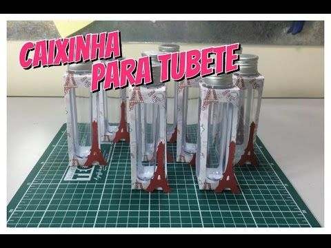 Suporte para Tubete - lembrancinhas Personalizadas