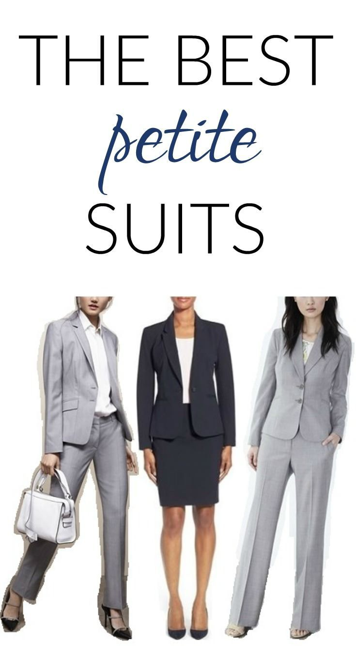 Cute workwear for petite women can be tough to find, and stylish suits can be especially hard -- here are some of our favorite suiting brands, styles, and stores for petite suits.