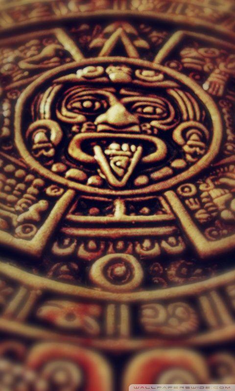 Calendario solar azteca México prehispánico Pinterest