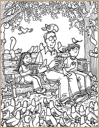 highlight coloring pages - Find The Pictures Printables
