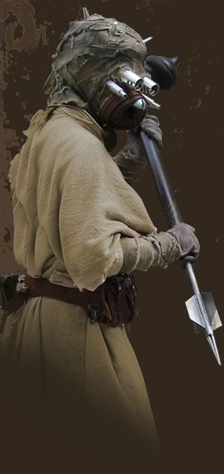 TK409.com Do-It-Yourself Star Wars Props - Tusken Raider costume