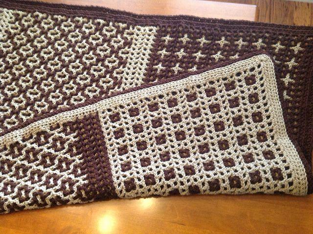 Interlocking Crochet Afghan | Flickr - Photo Sharing!