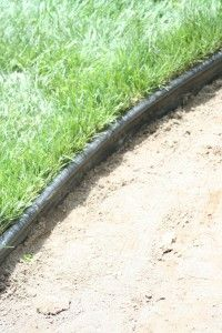 How To Install Plastic Landscape Edging |