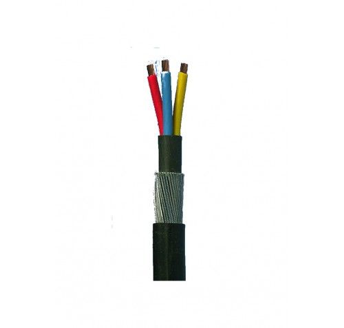 3.5 Core Electrical Copper Armoured Cable available best prices @ Steelsparrow.com 35 Sq.mm; Brand: Polycab ; Electrical Cable Grade - 650/1100V  For more details contact us:Info@steelsparrow.com Plz Visit: http://www.steelsparrow.com/electrical-cables/copper-armoured/3.5-core-aluminium-flexible-cable-491.html