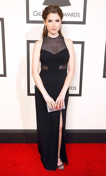 Anna Kendrick wearing Emanuel Ungaro