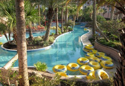 Lazy River at Hammock Beach Resort in Flagler Beach, Florida