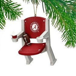Alabama Crimson Tide Stadium Chair Ornament