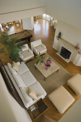 Furniture Placement Ideas for a Living Room With a Fireplace
