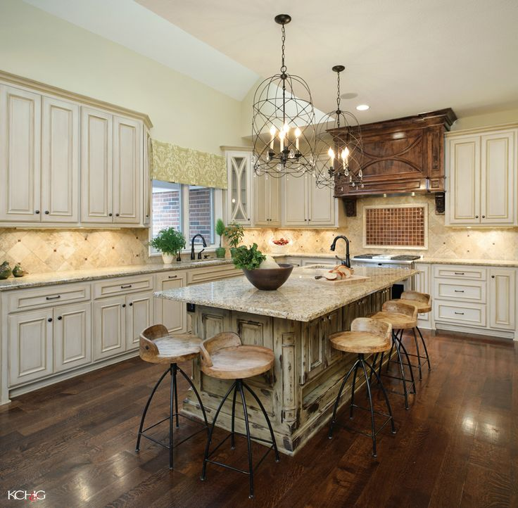 Kitchen:Granite Countertop Kitchen Island With Seating Beautiful Stool  Classic Chandelier Subway Tile Backsplash White Classic Kitchen Cabinet  Smalu2026