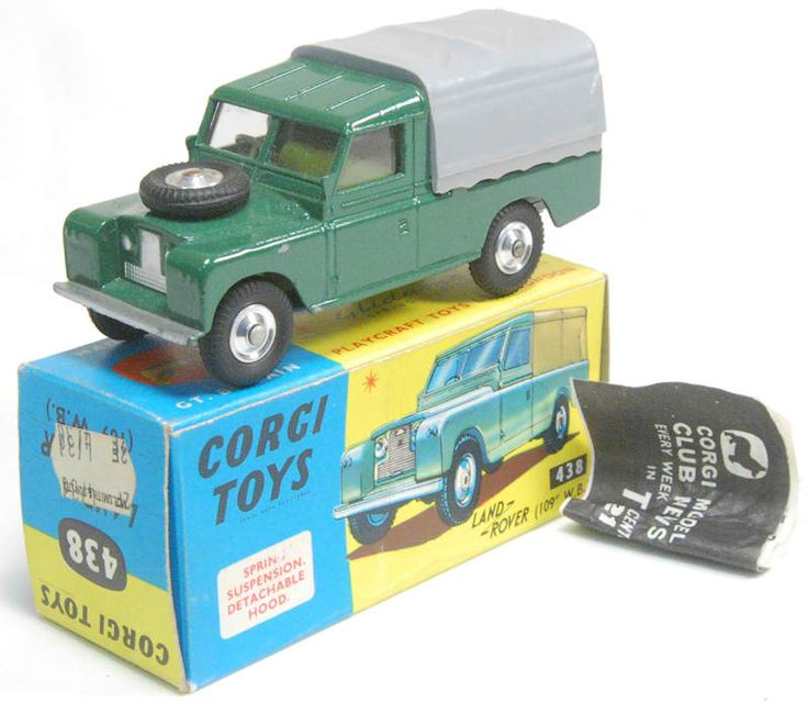 Corgi Toys Land Rover 109 WB in Green