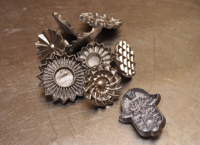 Moroccan cookie stamps