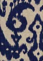 Marrakesh Batik Indigo Ikat Drapery Fabric $22.95/yd