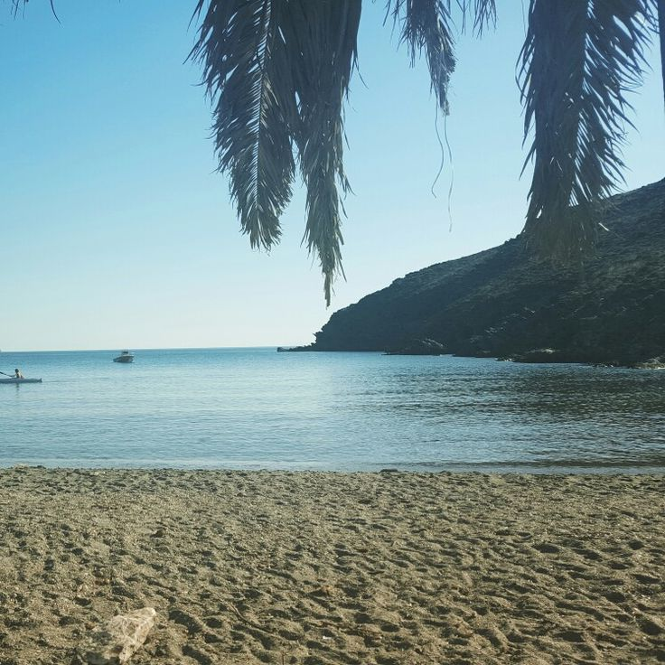 Private beach near Kini. €15 euros will get you there and back with some gorgeous views and a few giggles on the way.