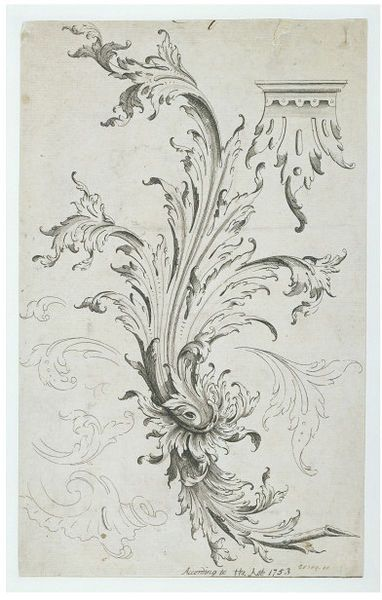 A raffle leaf | Copland, Henry | V&A Search the Collections