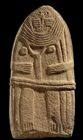 Statue-menhir (dite) Dame de Saint-Sernin musée Fenaille 14 place Raynaldy 12000 Rodez  Tél. : 05.65.73.84.30