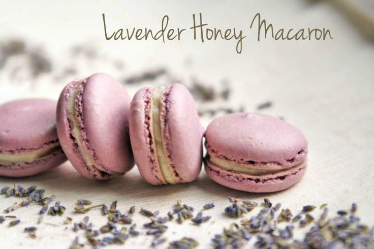 Lavender Honey Macaron | ラベンダーハニーマカロン Perfect for a lavender-flavor-lover (me!)