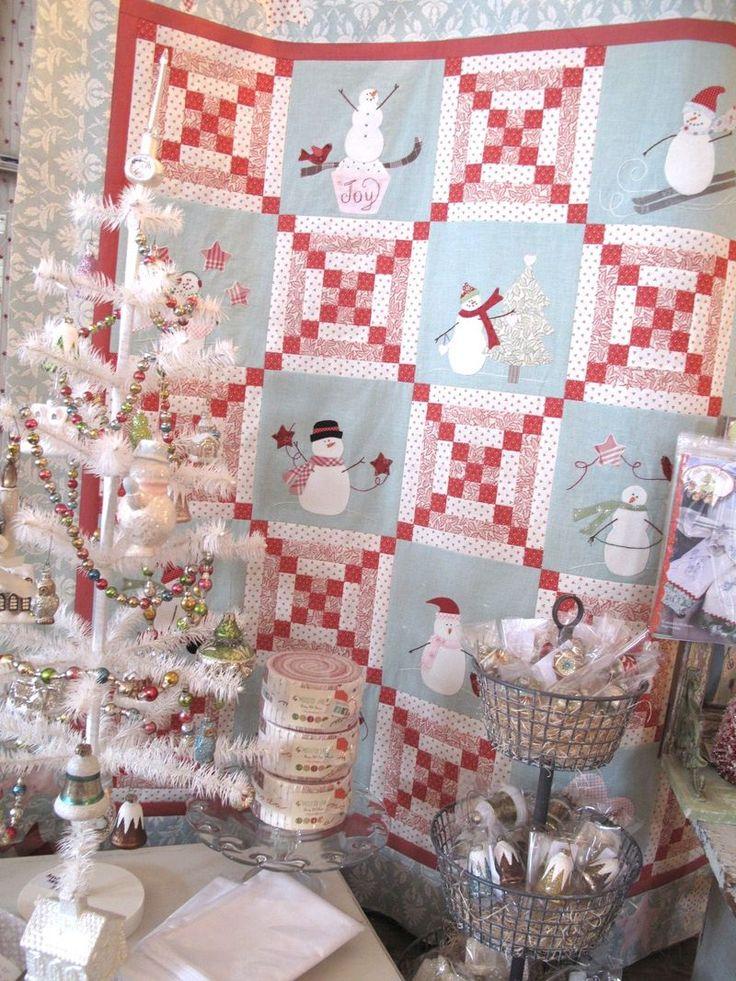 Best 25+ Snowman quilt ideas on Pinterest   Winter quilts, Sharon ... : snowman quilts - Adamdwight.com