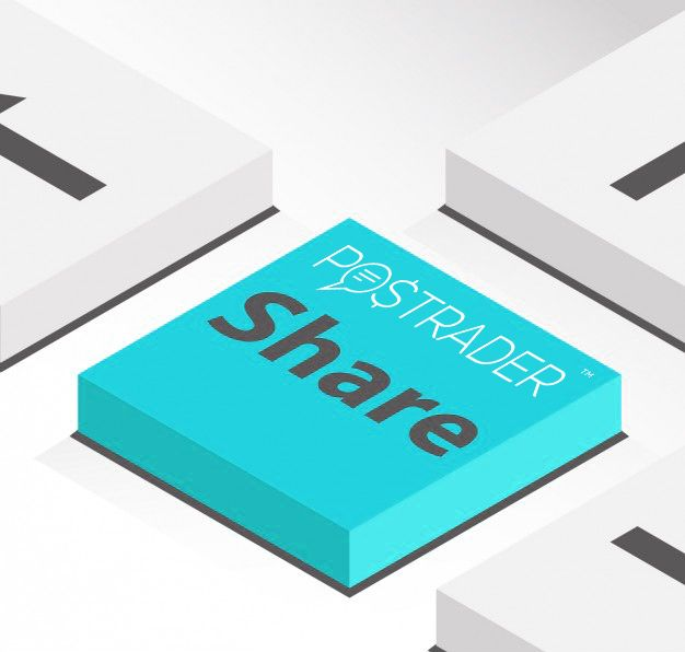 We give the prices of the products in shares. How it works? For example: You can take home a product for 6 shares, if 6 of your invited friends join us as a club member. Try it out ;)  https://postrader.fr/sign-up