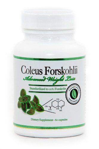Coleus Forskohlii Extract - Advanced Weight Loss | Standardized to 10% Forskolin | 100% Pure Premium Coleus Forskohlii Root Extract | 100mg - 60 veggie capsules.$13.95Veggies Capsule, 60 Veggies, Puree Premium, Advanced Weights, Premium Coleus, Coleus Forskohlii, Weights Loss, Forskohlii Extract, Roots Extract
