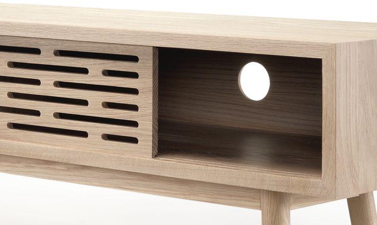 Wewood Radio sideboar lovely details. #radio #sideboars #ideas #storage #livingroom