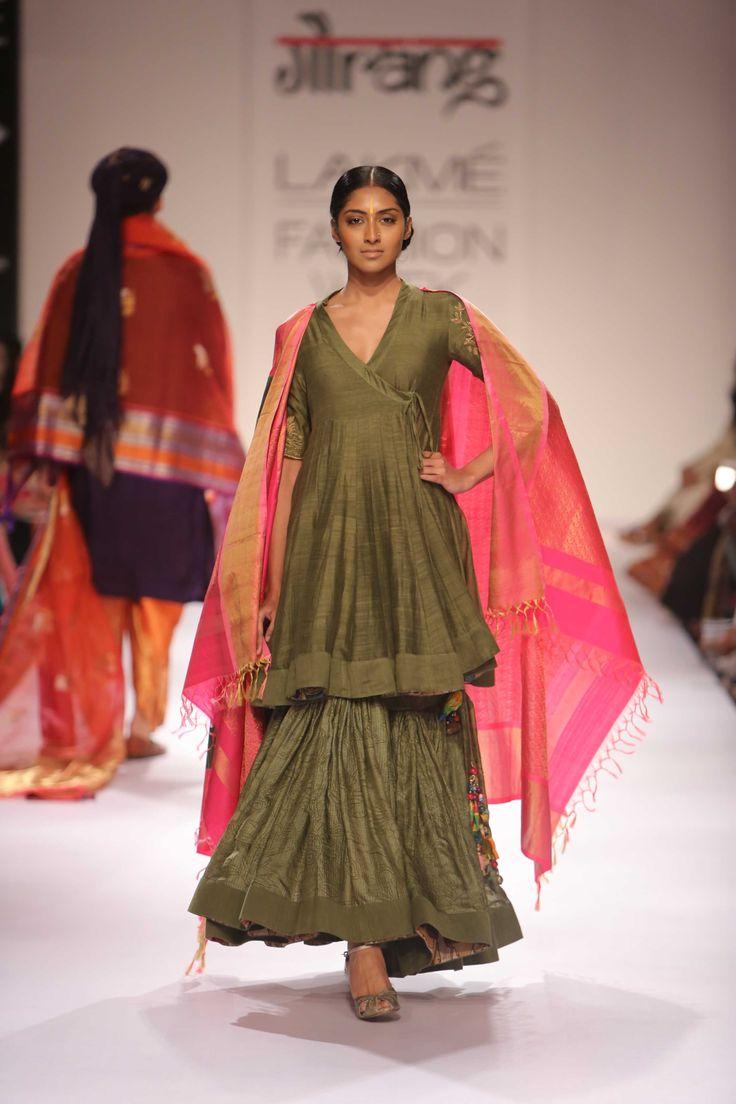 Lakmé Fashion Week – Gaurang at LFW WF 2014