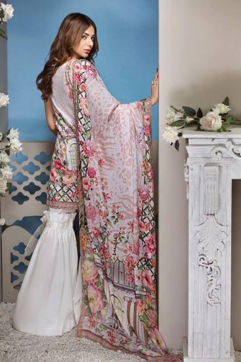 e41f6a6fc1 Anaya Luxury Summer Lawn Collection 2018 - Fashionvilas.com ...