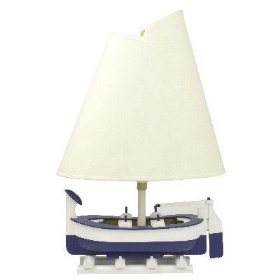 NA 7256 - Abat-jour peschereccio bianco blu