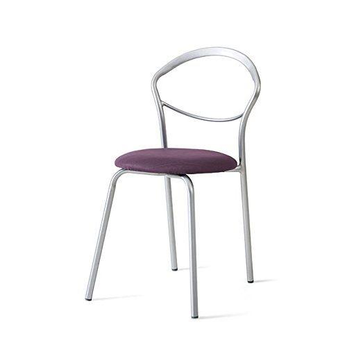 Sedia Target Point Brandy da cucina - Realizzata in metallo, è caratterizzato da un design moderno ed innovativo; è verniciata con il colore argento. La sedia da cucina Brandi si presenta con una struttura lineare in metallo pieno, curvato e battuto a caldo. Dona all'ambiente toni eleganti e raffinati. Si adatta ad ambienti giovani e moderni. Questa sedia da cucina Target Point Brandy misura in lunghezza 43 cm, in larghezza 49 cm ed in altezza 81 cm.