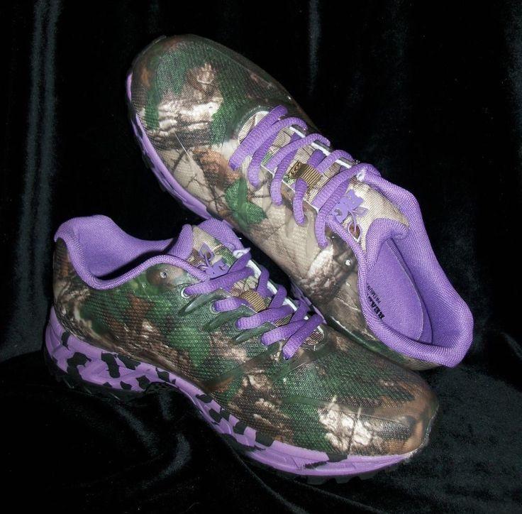 NIB~ Womens Realtree Girl Camo Mamba Purple/ Xtra Green Tennis Shoe NEW 2014 | Clothing, Shoes & Accessories, Women's Shoes, Athletic | eBay!