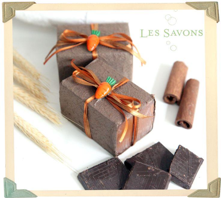 Sabonete de chocolate. Mais uma delicadeza das #lessavons.
