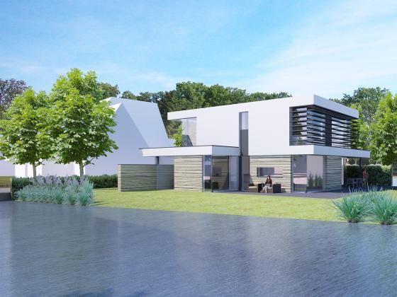 Meer dan 1000 idee n over moderne architectuur woning op pinterest santa fe thuis - Plan indoor moderne woning ...