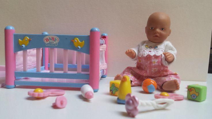 Baby born miniworld Zapf creation sehr guter Zustand