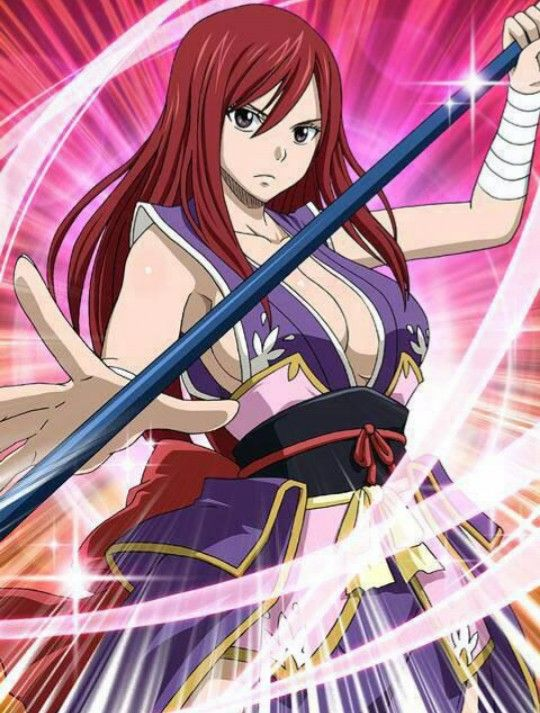 37 best images about erza titania scarlet on pinterest - Fairy tail erza sexy ...