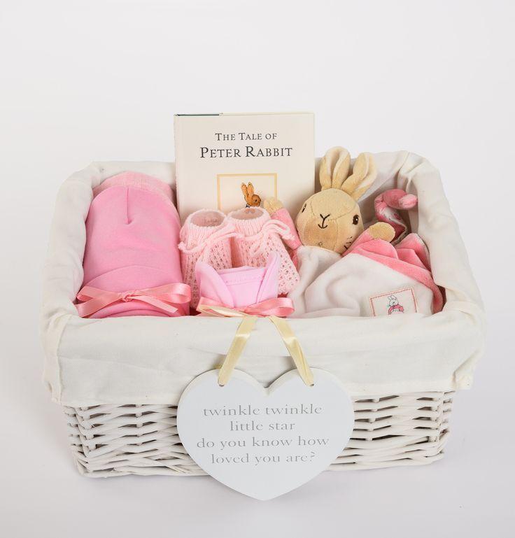 Flopsy Baby Basket – Baby – Babyparty – #Baby #Babykorb #Flopsy # Schatz …   – Newborn Essentials