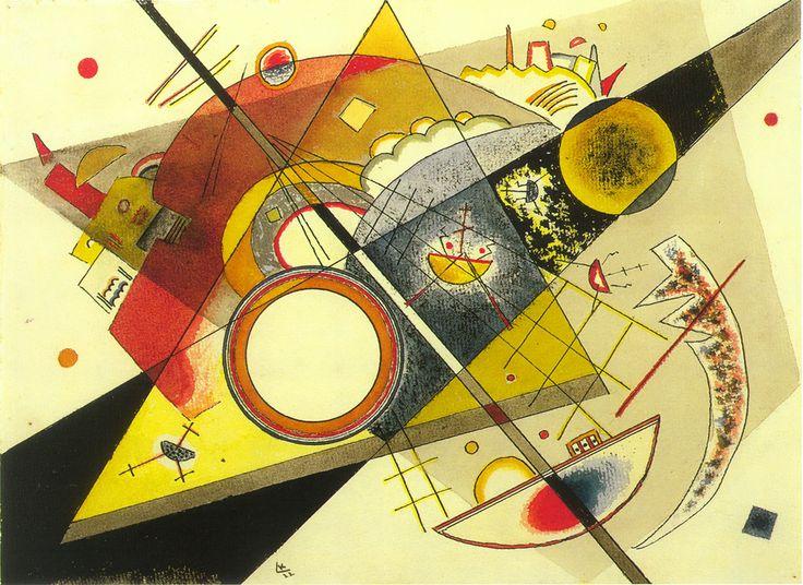Kandinsky - Untitled (Ohne Titel), 1922