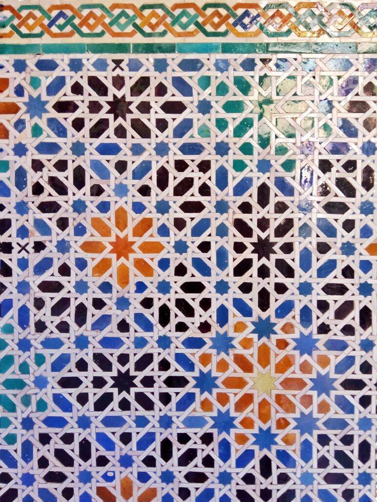 Azulejos, Real alcázar de Sevilla, Andalucía Spain