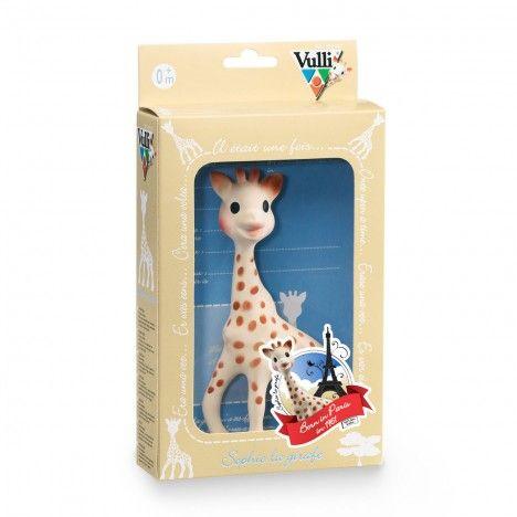 Sophie la girafe en boîte cadeau - 12,90 € - Contient une carte à conserver et à personnaliser