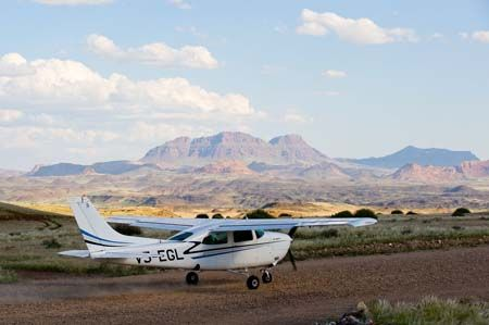Wilderness Safaris camps are so remote that fly-in safaris are the best means of access #Damaraland #Namibia