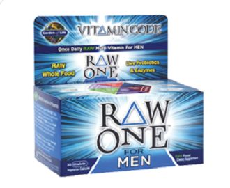 Garden of Life RAW ONE For Men Multi: Vitamin Code RAW ONE For Men is uncooked, untreated and unadulterated. It is RAW, gluten-free, dairy-free and contains no binders and no fillers.