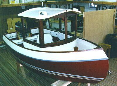 9′ Tubby Tug  tugboat for kids  www.boatdesigns.com