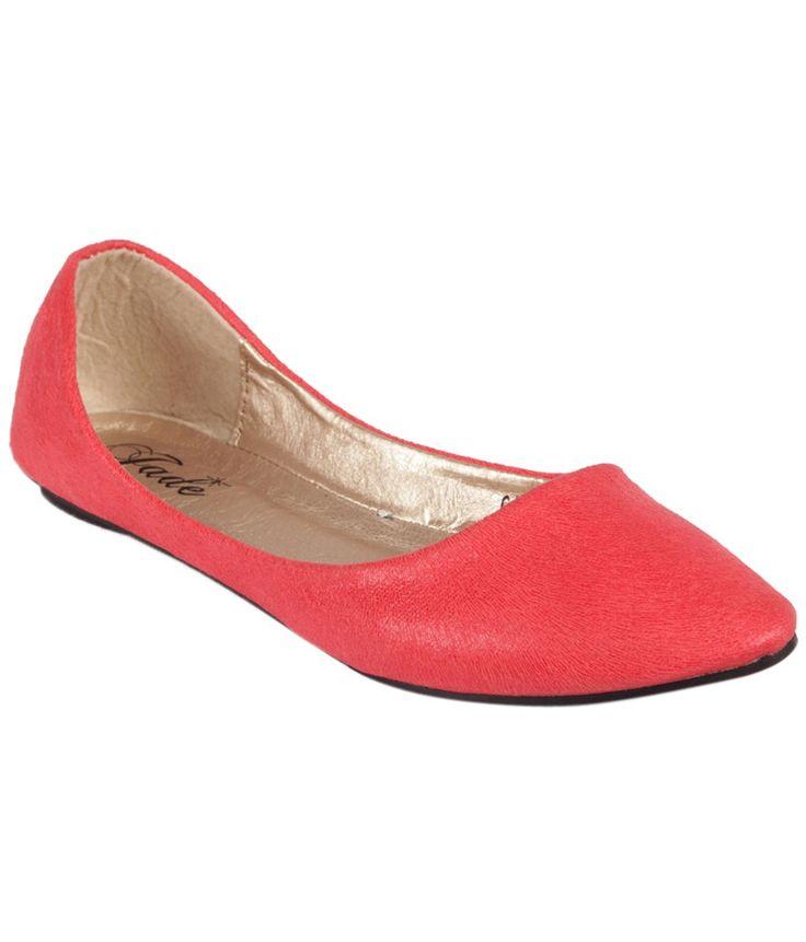 Jade Red Ballerinas, http://www.snapdeal.com/product/jade-red-ballerinas/114468827