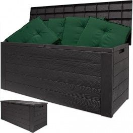 Awesome Auflagenbox Gartenbox Gartentruhe Kissenbox Gartenm bel Garten Box Kissentruhe