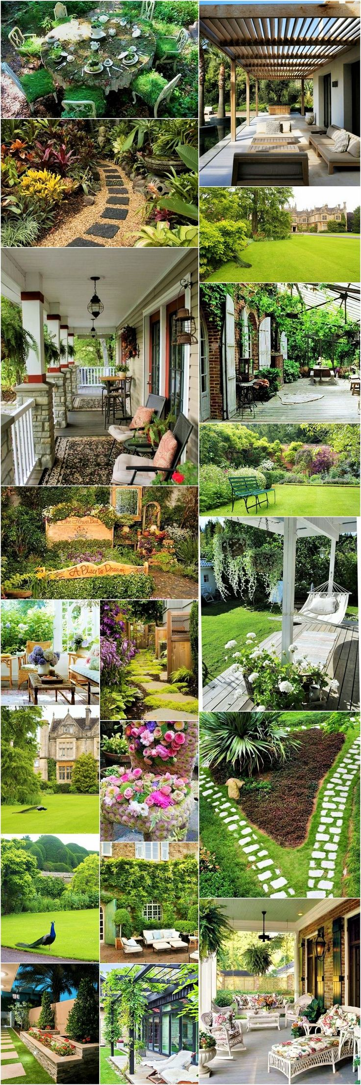 A home garden is not something that is only best to look at; it has numerous other benefits as well. A garden is a natural air purifier as plants that are present in it, cleans the air and provides you with a fresh environment. Having a garden in the home