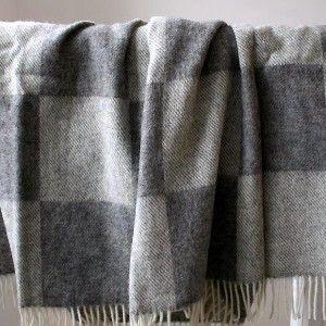 Ribe Scandinavian Wool Throw