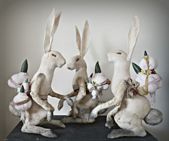 New Easter Hares Mister Finch http://www.mister-finch.com/