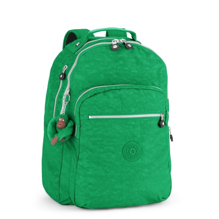 Mochila Clas Seoul verde Mojito Green Kipling